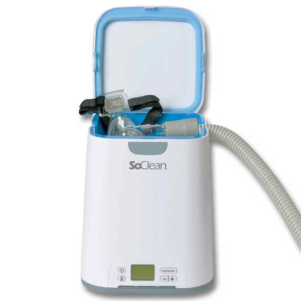 SoClean 2 CPAP Cleaner and Sanitizing Machine with AirSense 10 Adapter