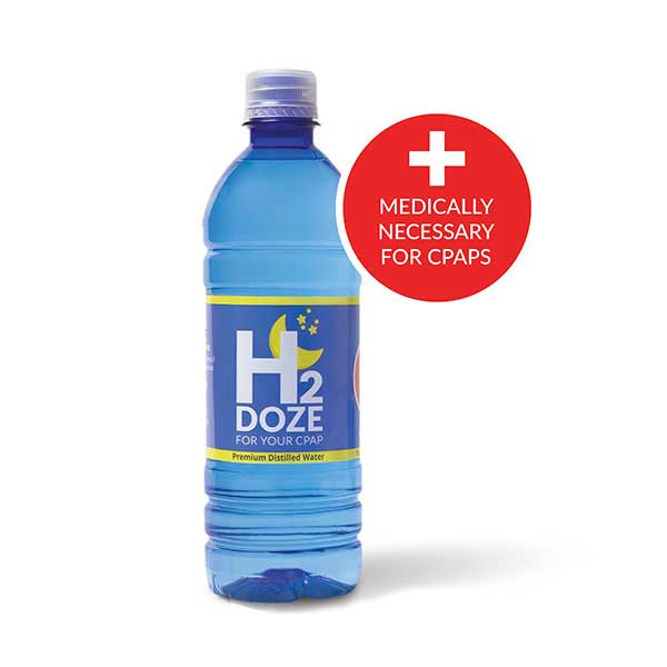 H2Doze Distilled Water for CPAP Humidifiers