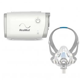 AirMini™ AutoSet Travel CPAP Machine with AirFit™ F20 Setup Pack (Mask Included)