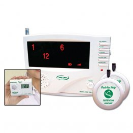 Wireless Central Monitoring and Paging System Complete Kit