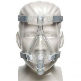 Amara Full Face CPAP Mask with Headgear, Gel