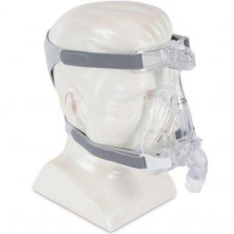 Amara Full Face CPAP Mask without Headgear, Silicone