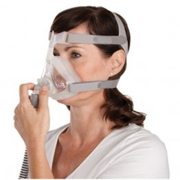 Quattro Air For Her Full Face Mask with Headgear